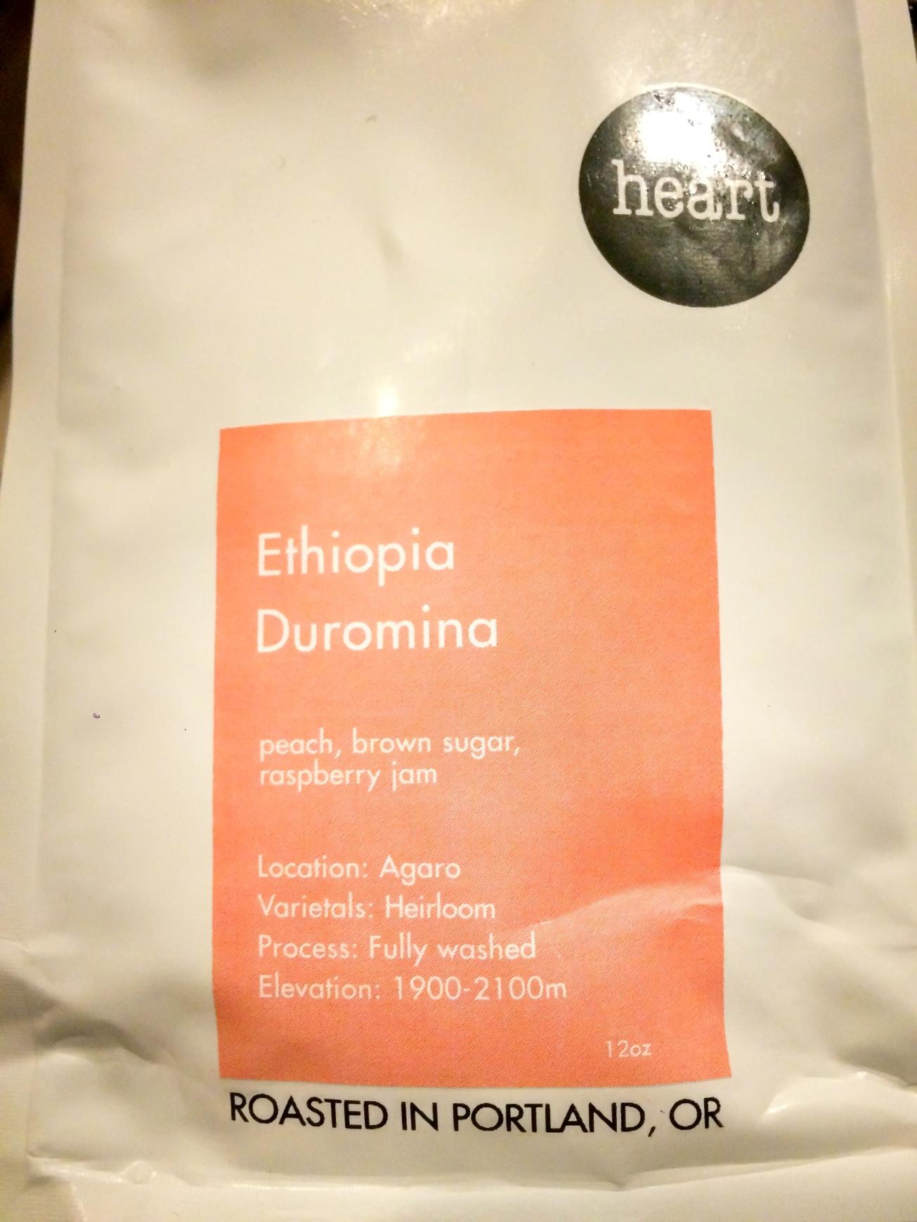 Heart Roasters Ethiopia Duromina