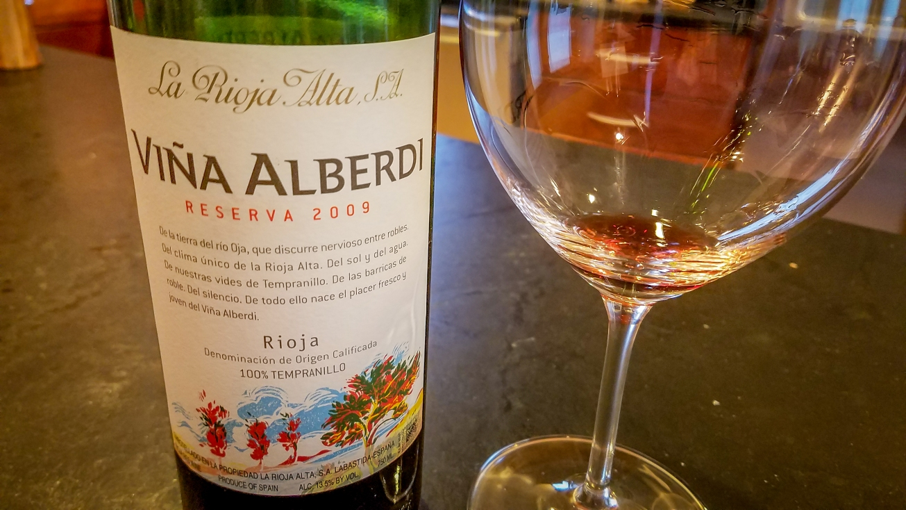 2009 La Rioja Alta Rioja Viña Alberdi Reserva