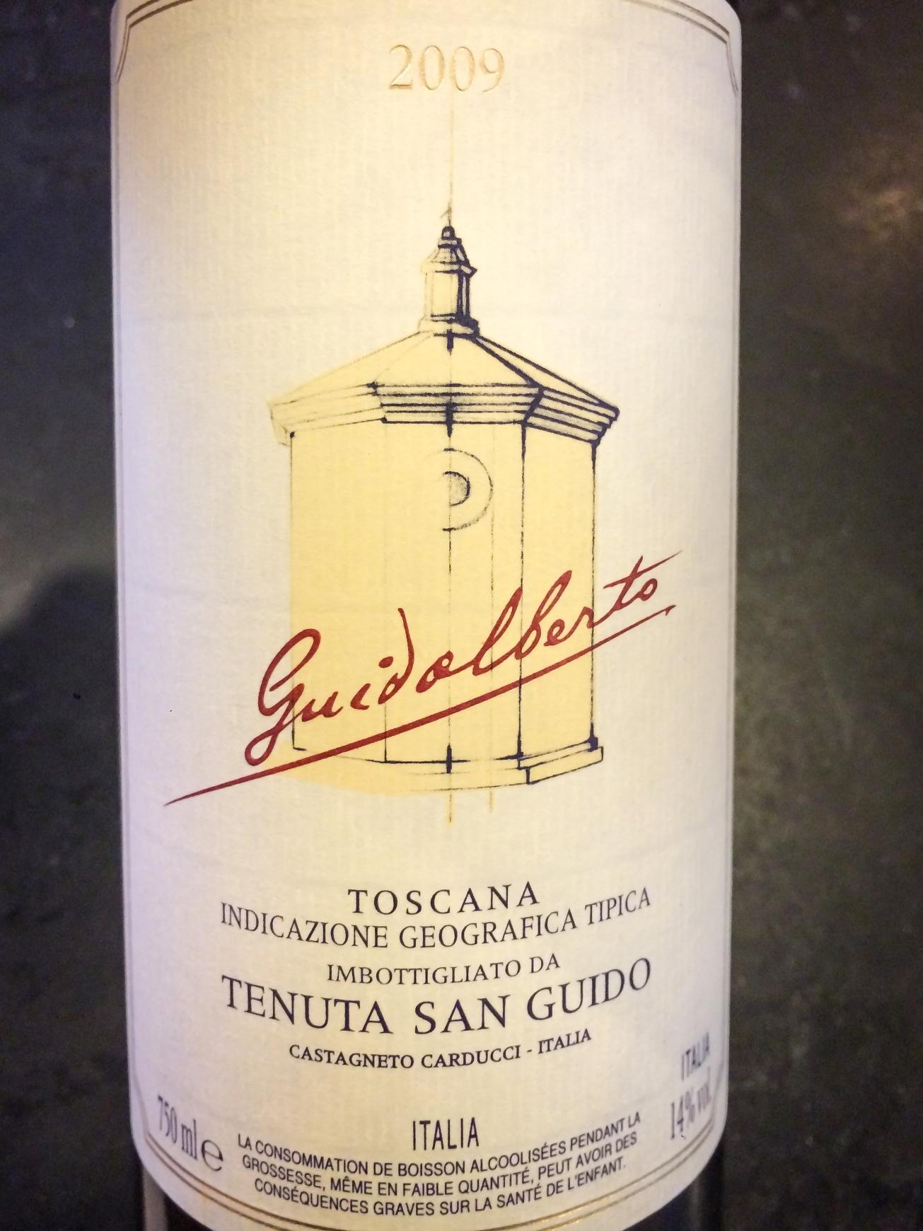 2009 Tenuta San Guido Guidalberto Toscana IGT