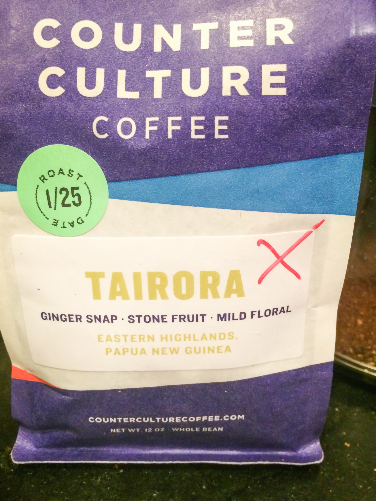 Counter Culture Tairora