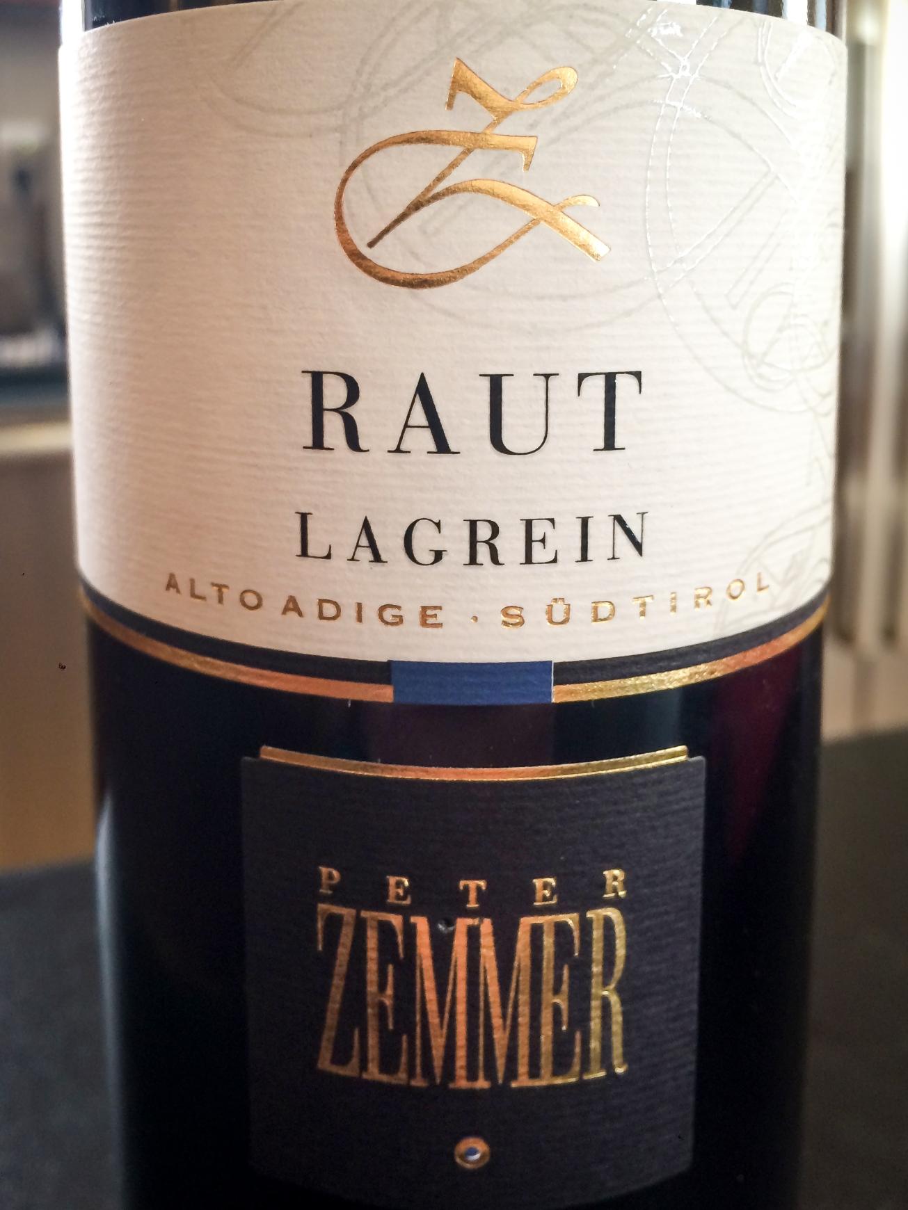 2012 Peter Zemmer Lagrein Raut