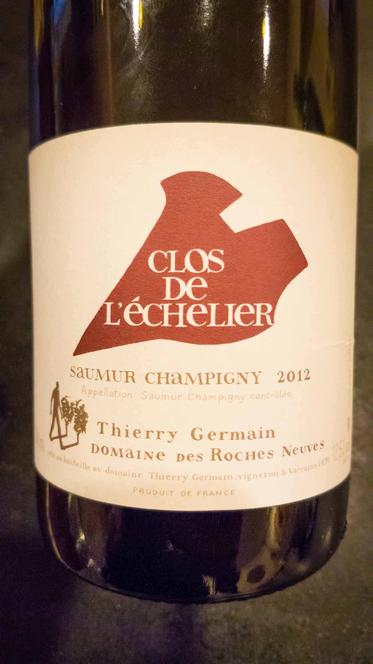 2012 Domaine des Roches Neuves Saumur-Champigny Clos de L'Echelier