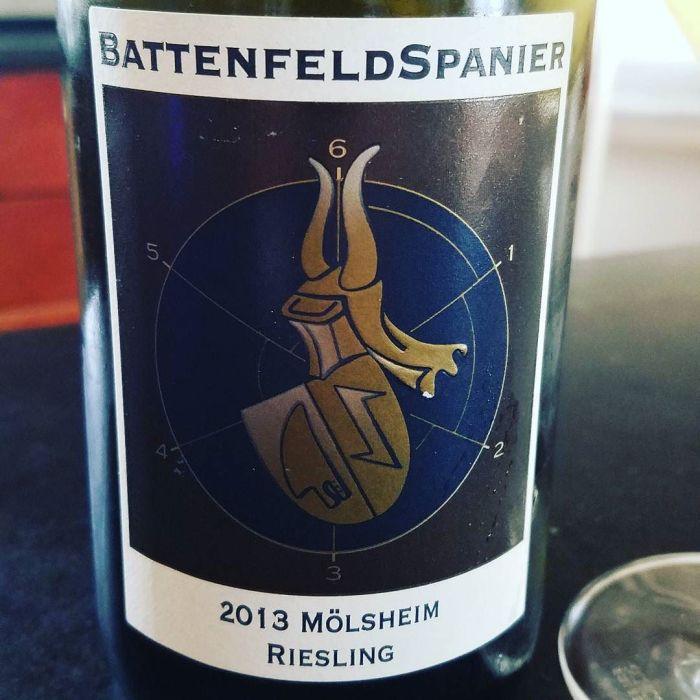 2013 Weingut Battenfeld-Spanier Mölsheim Riesling trocke