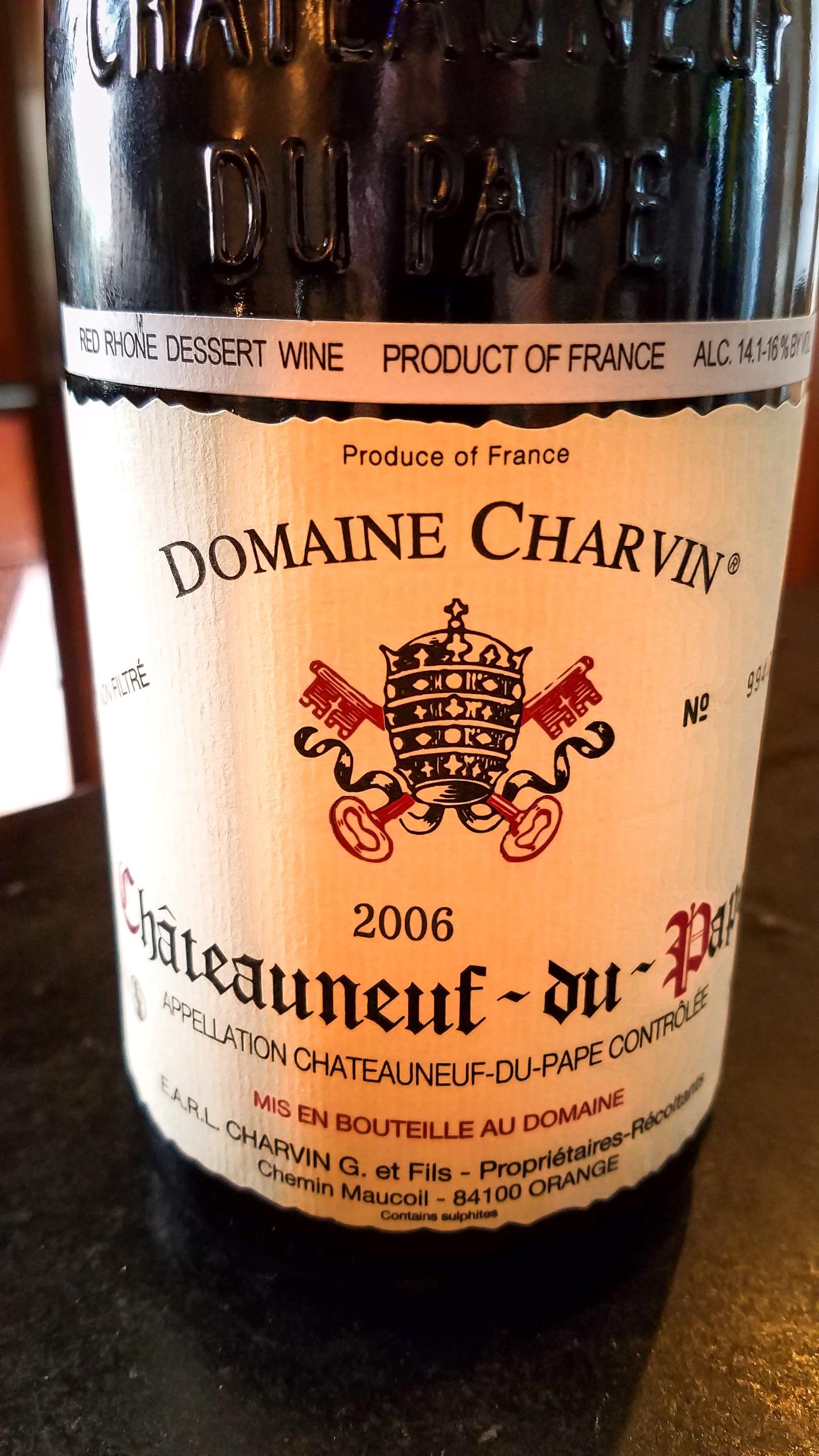 2006 Domaine Charvin Châteauneuf-du-Pape