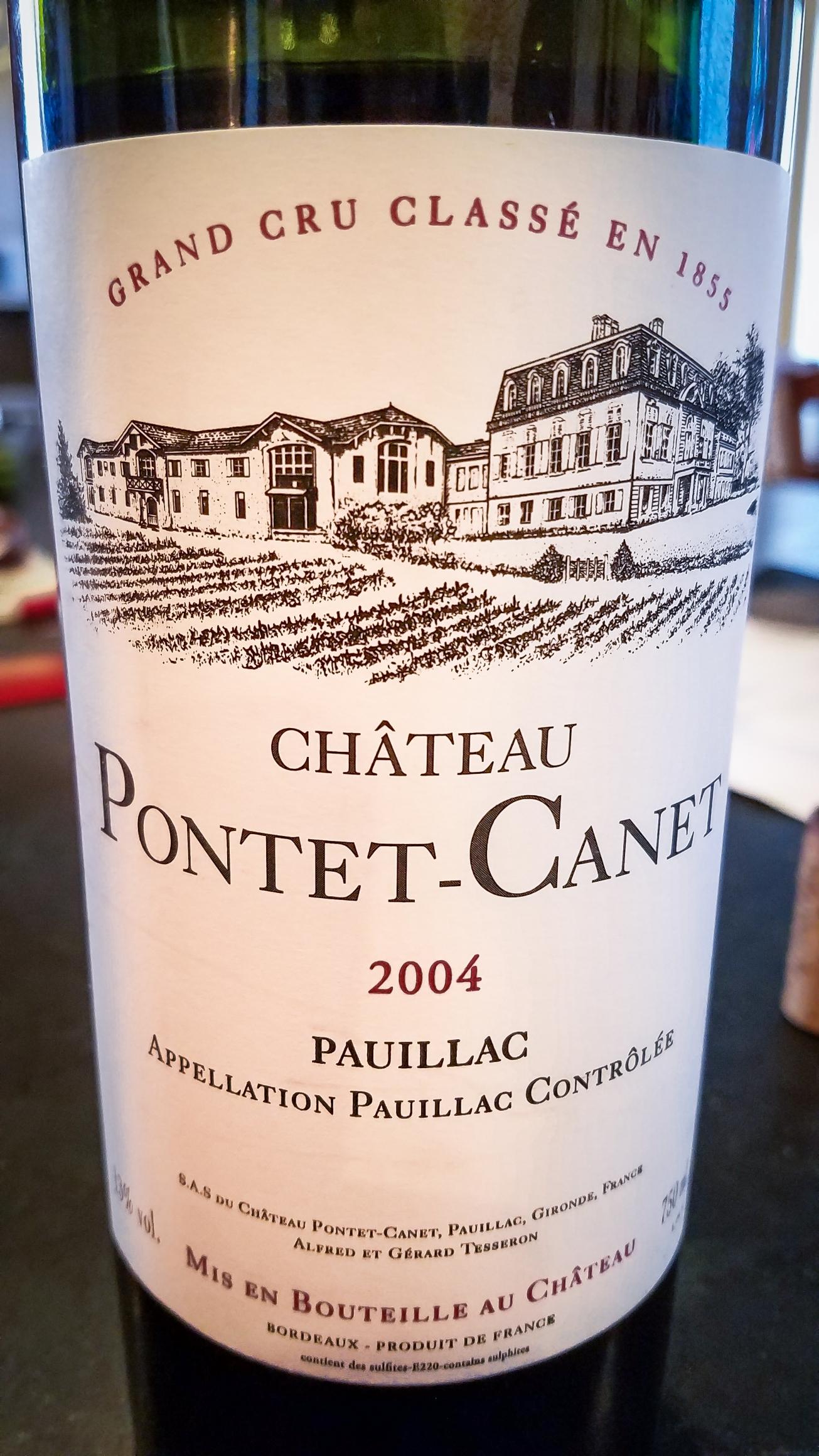 2004 Château Pontet-Canet