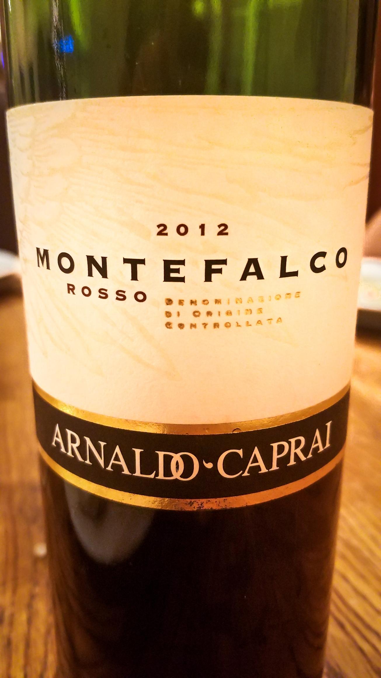 2012 Arnaldo-Caprai Montefalco Rosso
