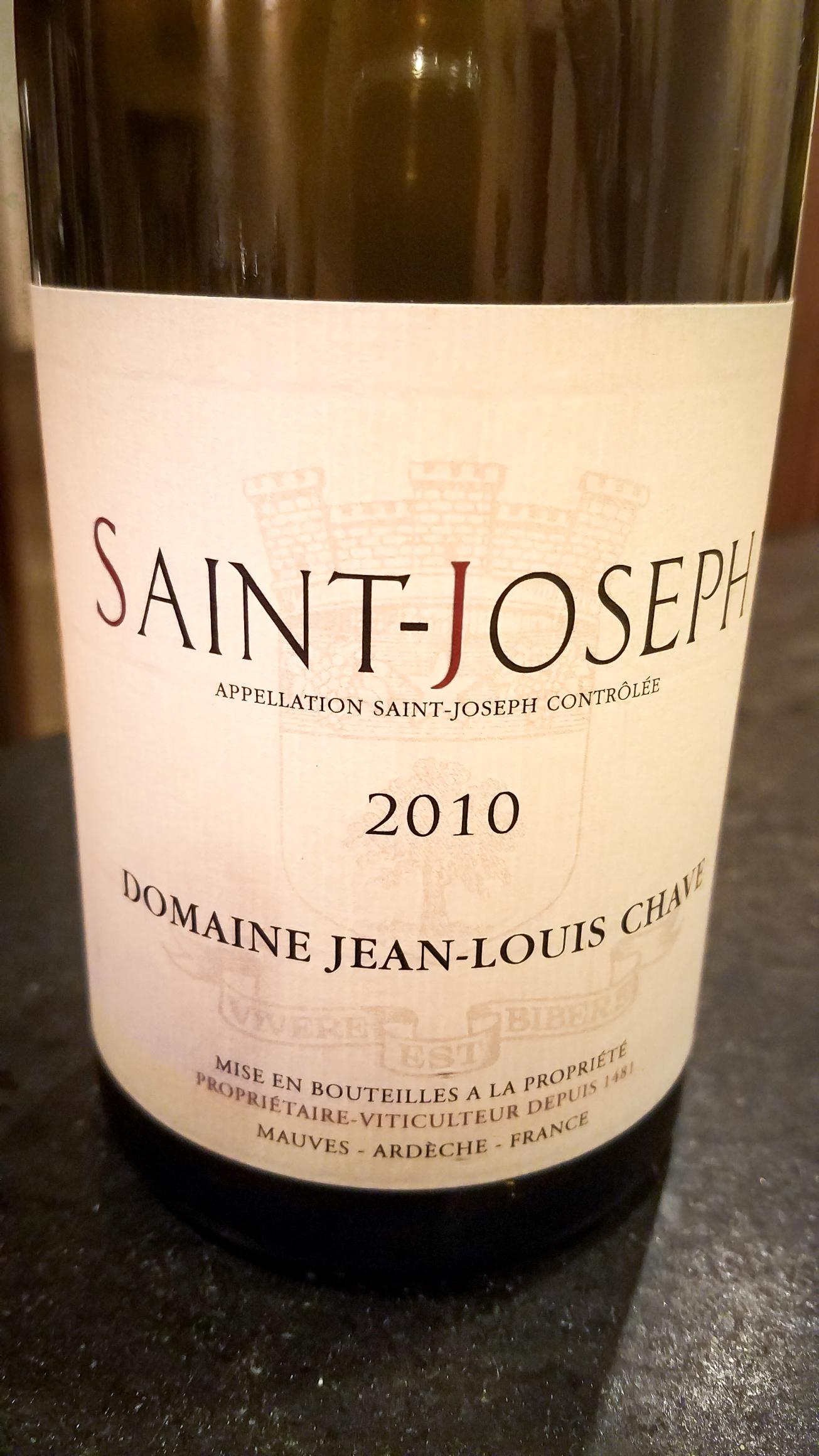 2010 Domaine Jean-Louis Chave St. Joseph
