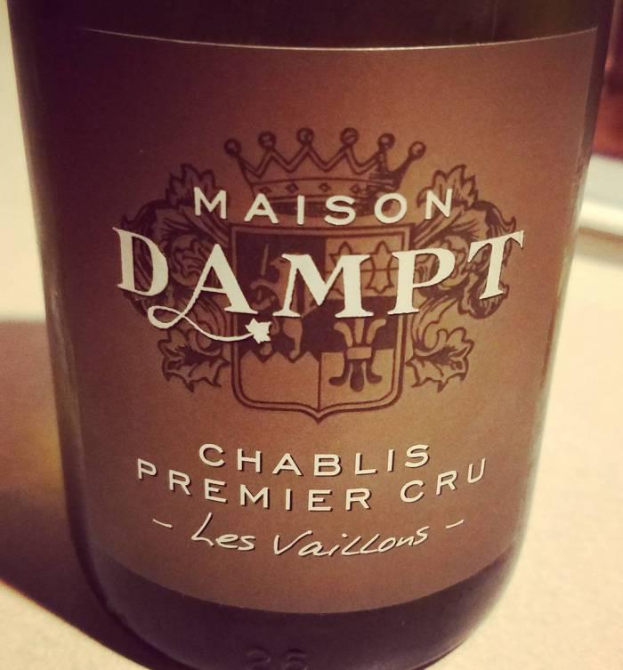 2015 Maison Dampt Chablis 1er Cru Les Vaillons