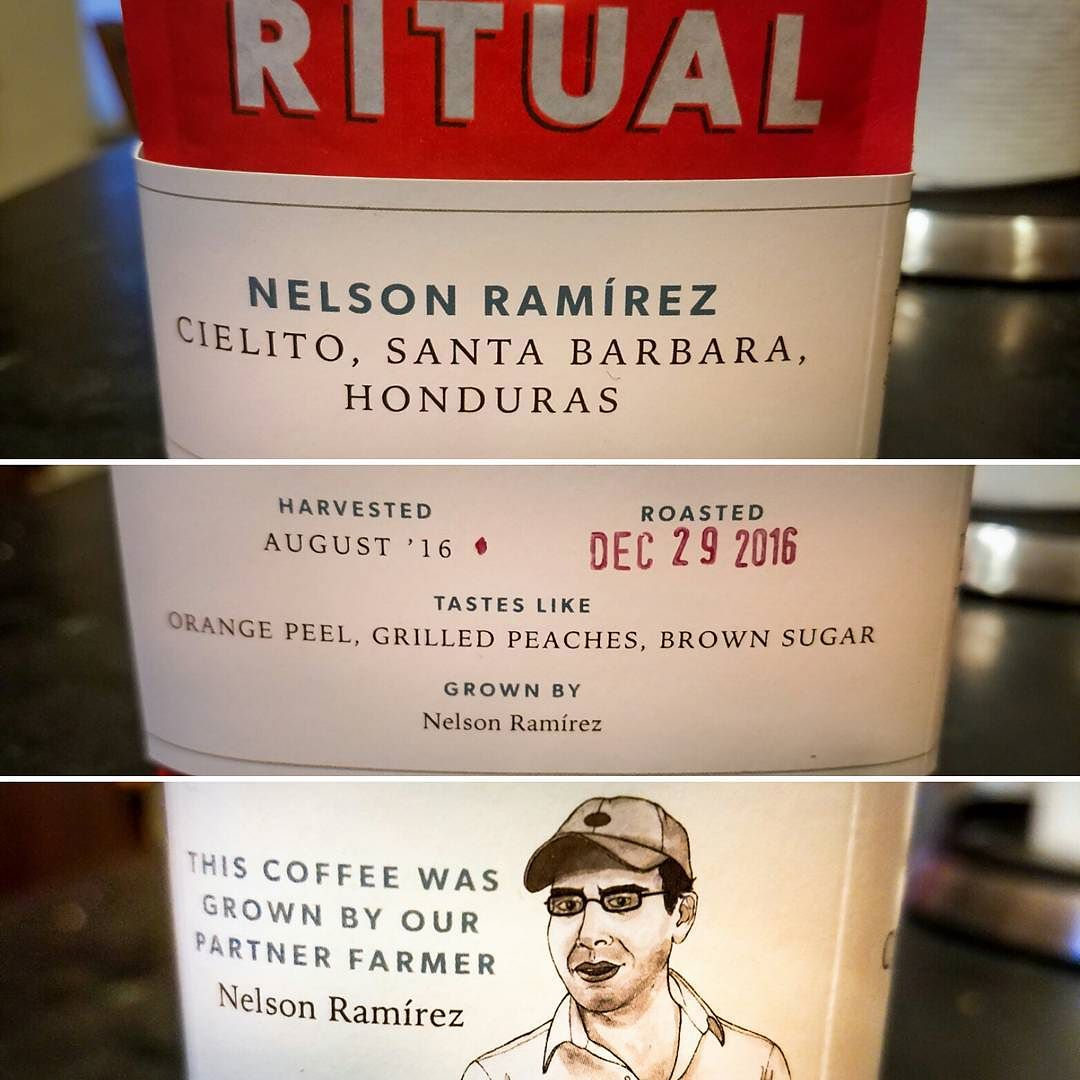 Ritual Coffee Nelson Ramirez