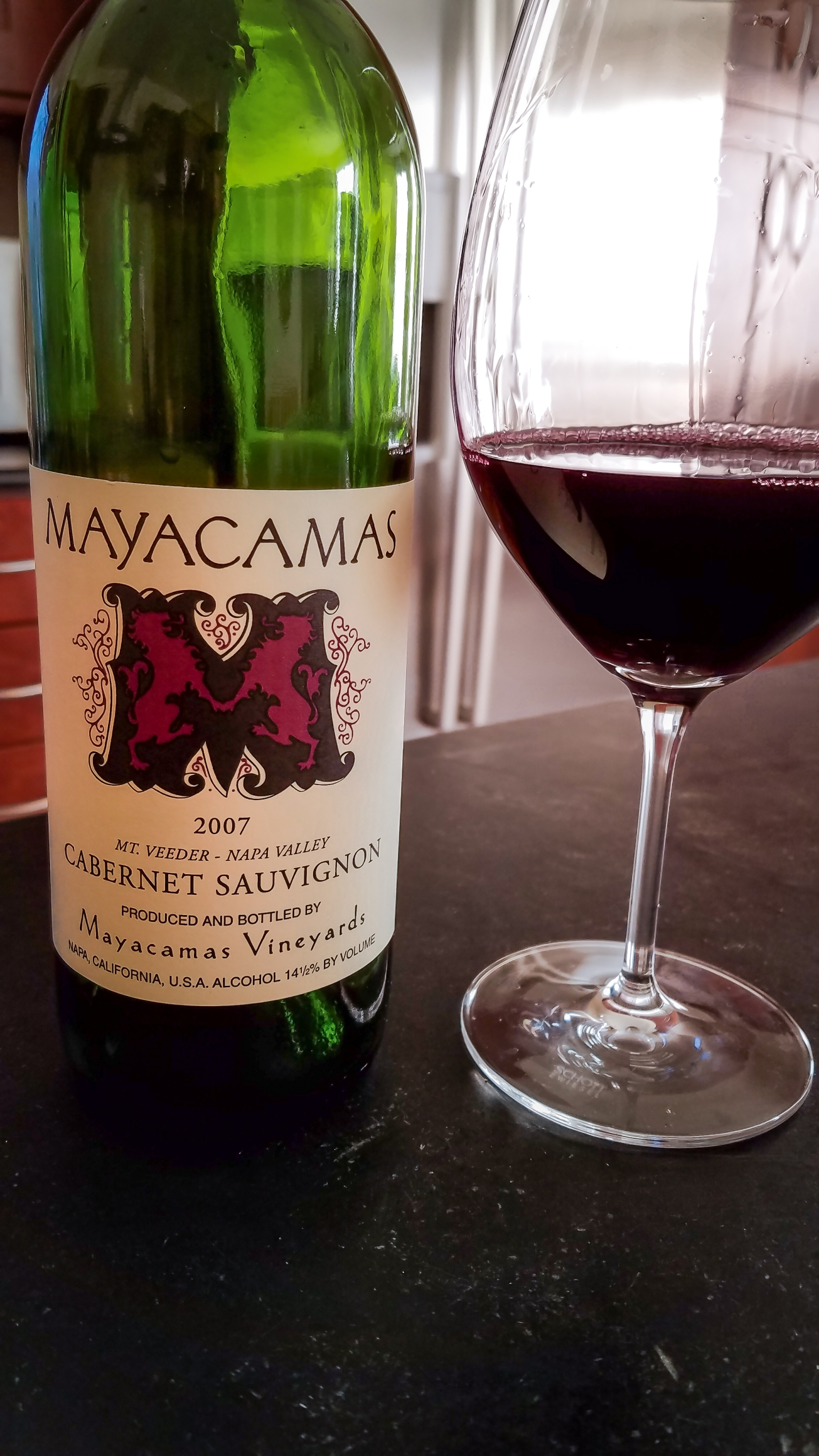 2007 Mayacamas Vineyards Cabernet Sauvignon