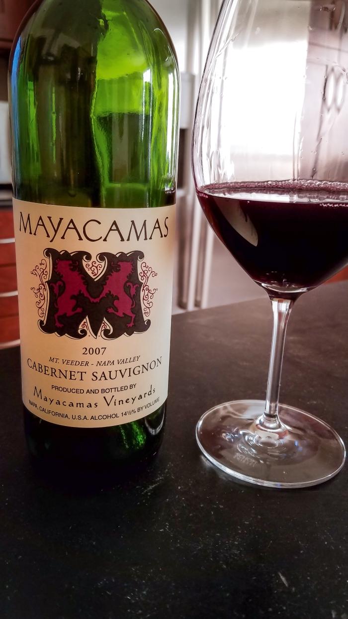 2007 Mayacamas Vineyards Cabernet Sauvignon