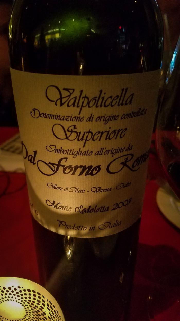 2009 Romano Dal Forno Valpolicella Superiore