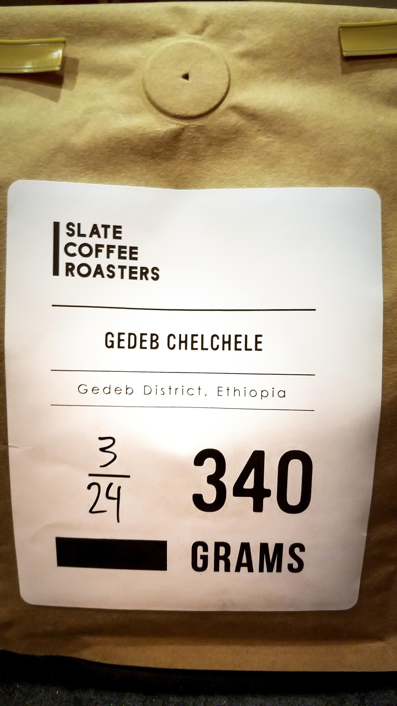 Slate Coffee Roasters Gedeb Chelchele