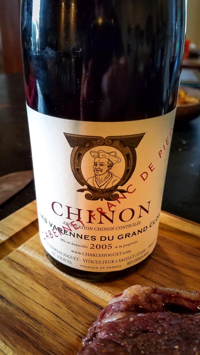 2005 Charles Joguet Chinon Franc de Pied Les Varennes du Grand Clos