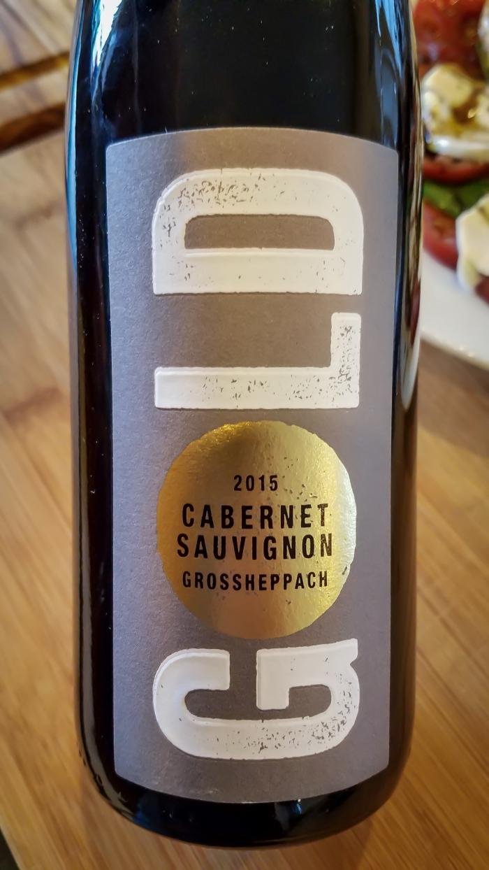 2015 Weingut Gold Cabernet Sauvignon Großheppacher