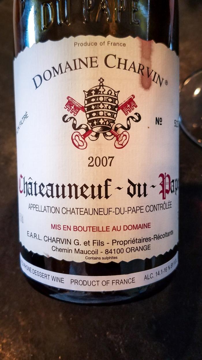 2007 Domaine Charvin Châteauneuf-du-Pape