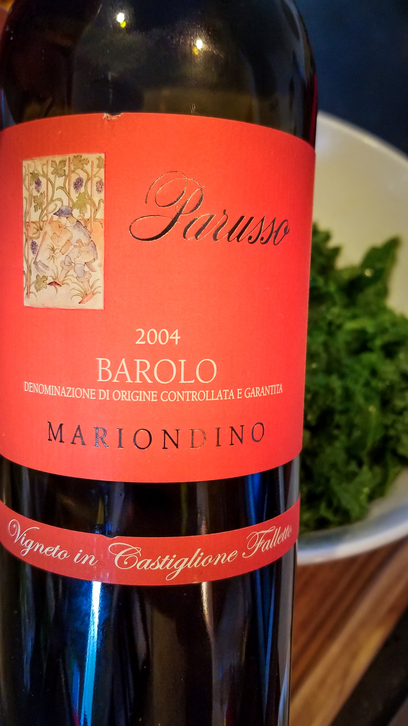 2004 Parusso Barolo Mariondino