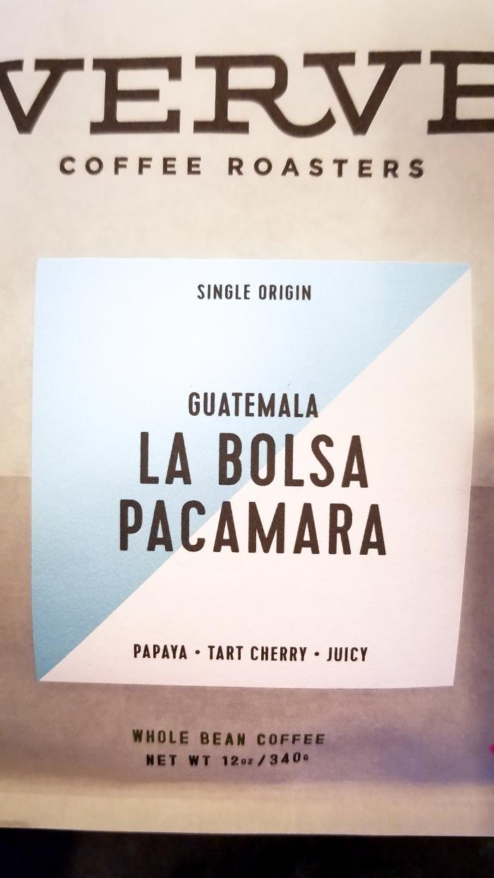 Verve Coffee La Bolsa Pacamara
