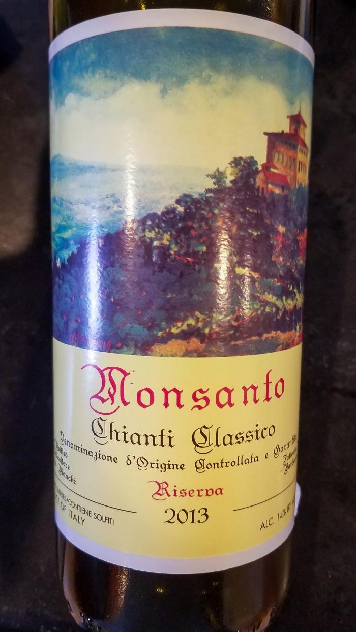 2013 Castello di Monsanto Chianti Classico Riserva