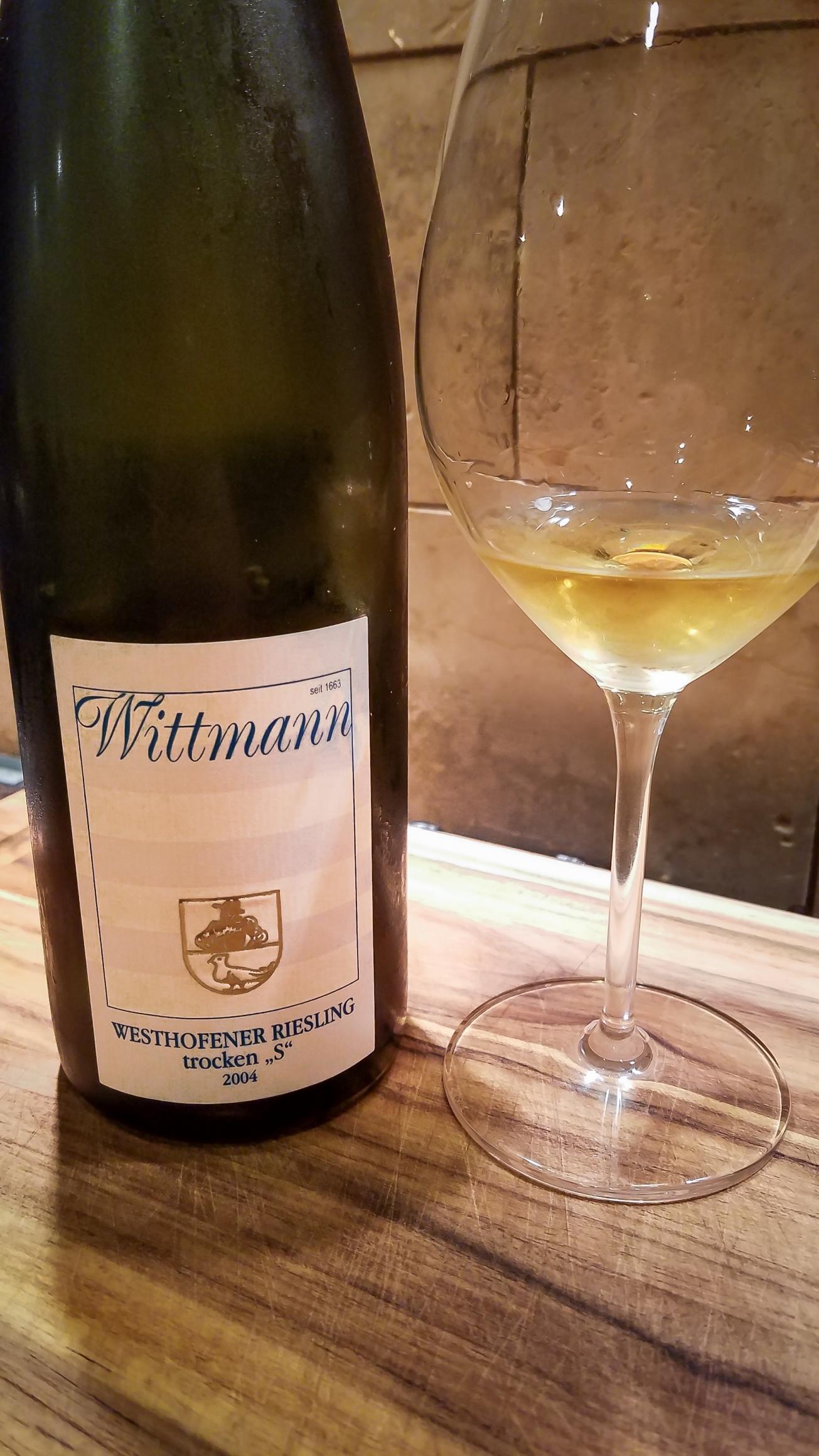 2004 Wittmann Westhofener Riesling Trocken 'S'
