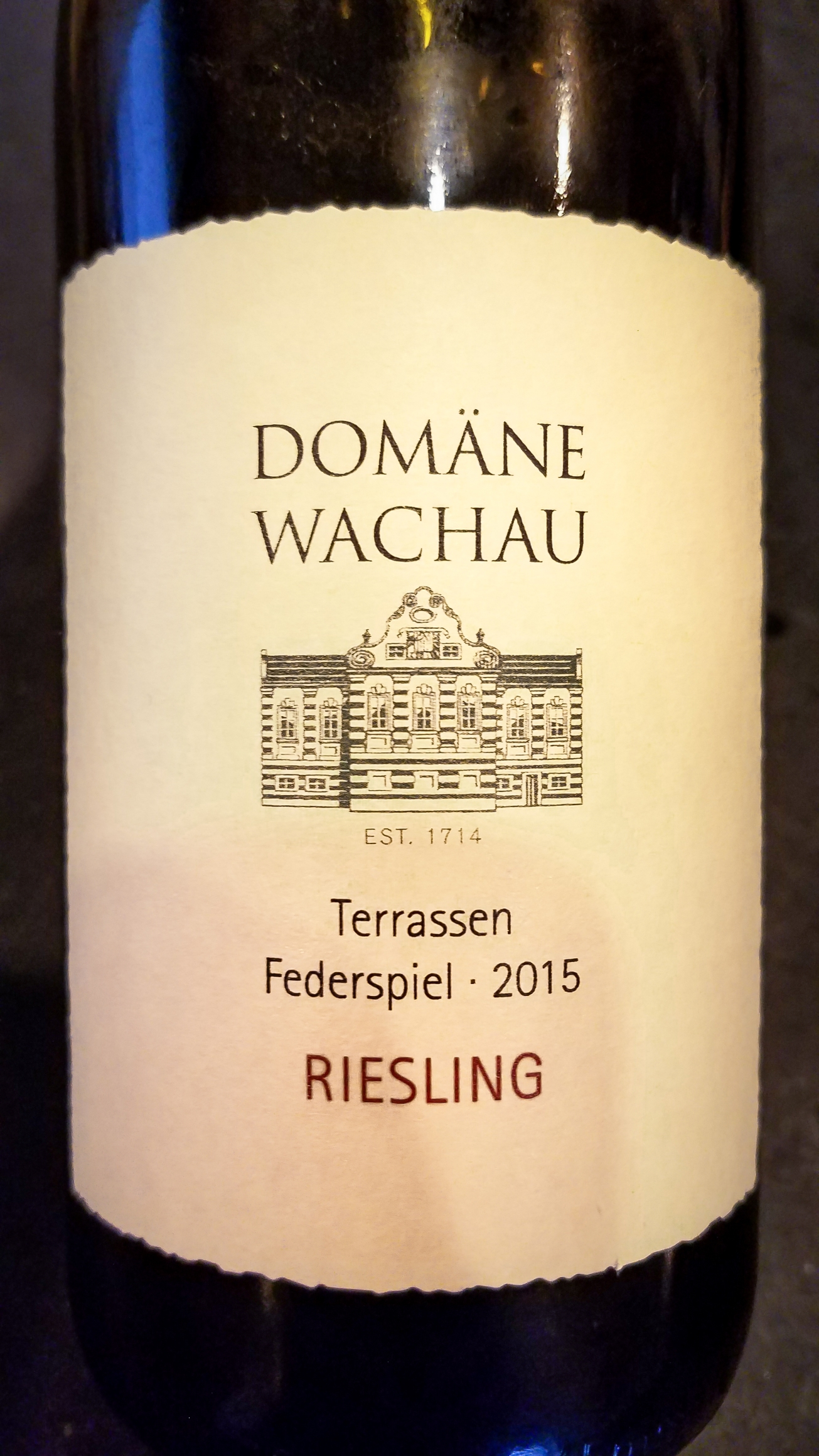 2015 Freie Weingärtner Wachau / Domäne Wachau Riesling Federspiel Terrassen
