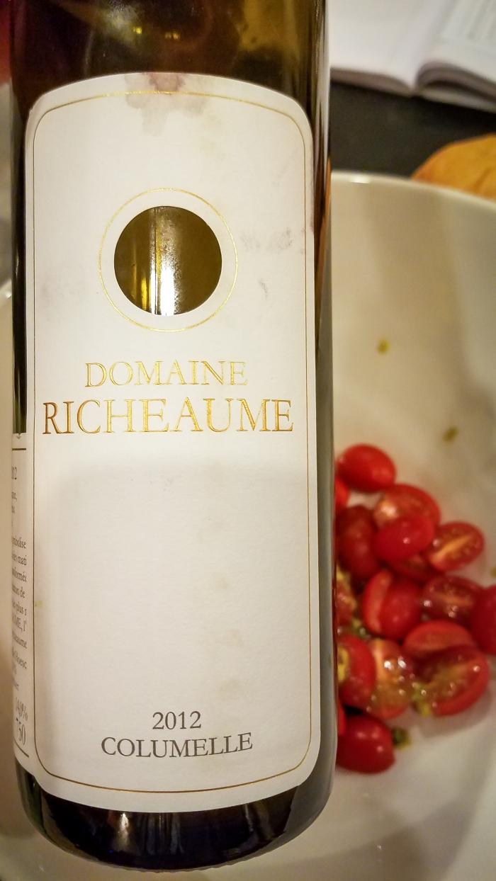 2012 Domaine Richeaume Cuvée Columelle