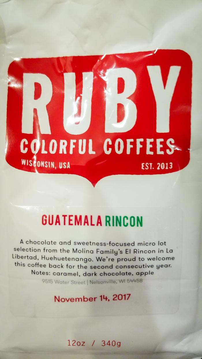 Ruby Coffee Guatemala Rincon