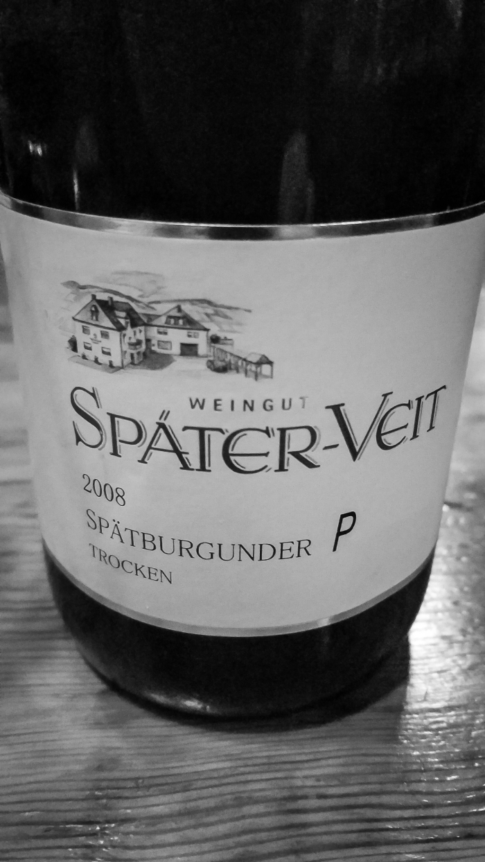 """2008 Später-Veit Spätburgunder """"P"""""""