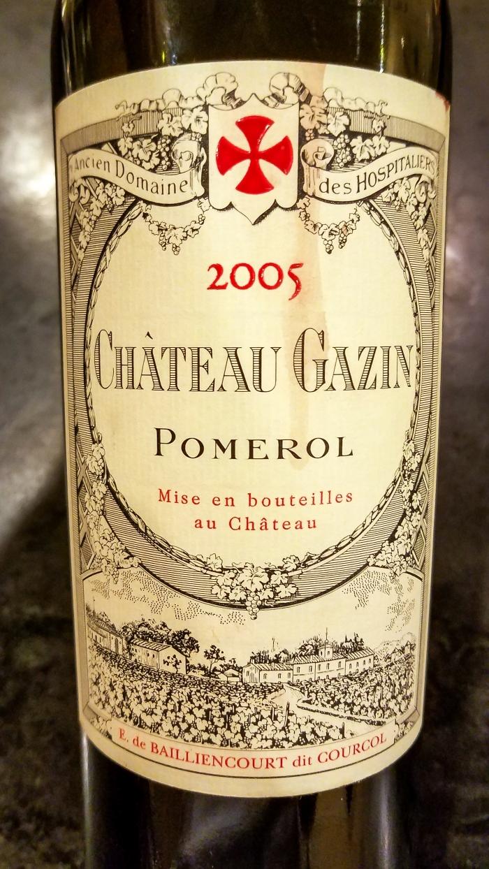 2005 Château Gazin