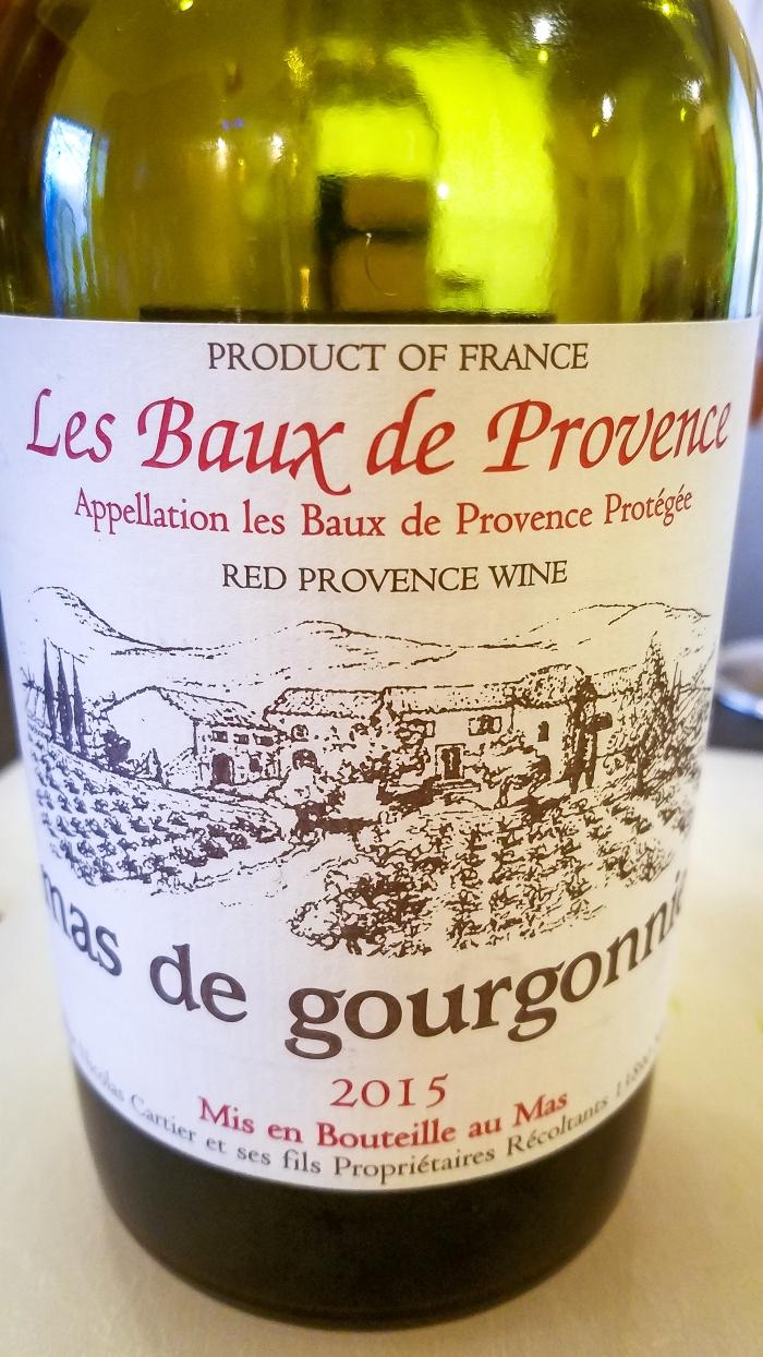 2015 Mas de Gourgonnier Les Baux-de-Provence