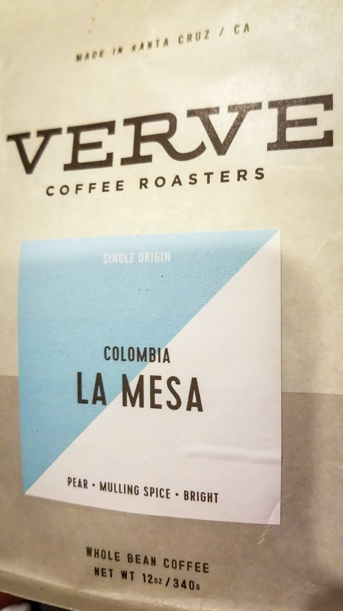 Verve Coffee Colombia La Mesa