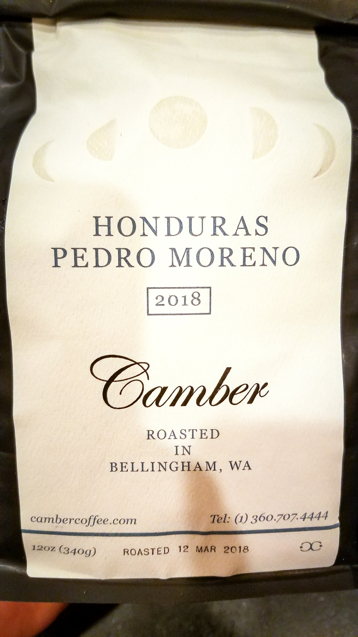 Camber Coffee Honduras Pedro Moreno