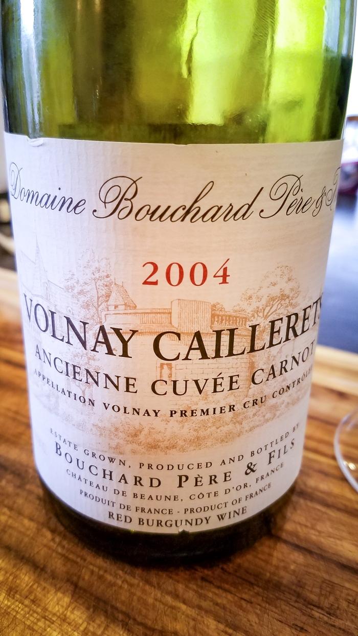 2004 Bouchard Père et Fils Volnay 1er Cru Caillerets Ancienne Cuvée Carnot