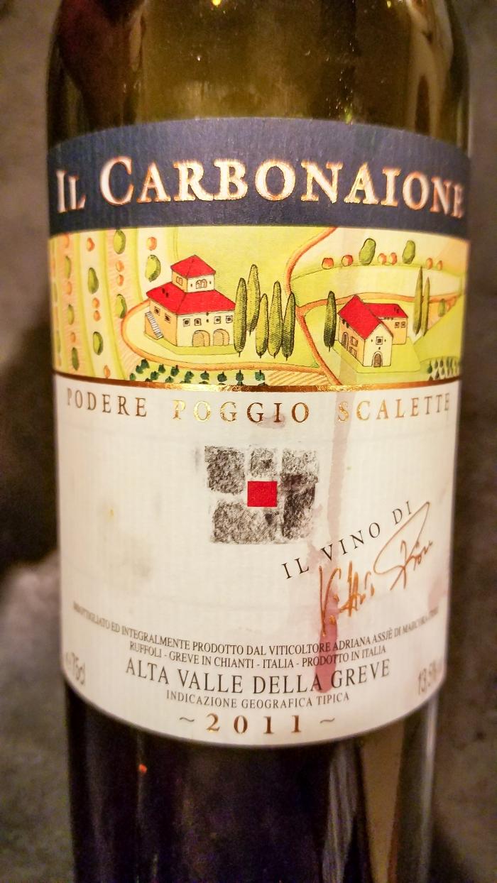 2011 Podere Poggio Scalette Il Carbonaione Alta Valle della Greve IGT
