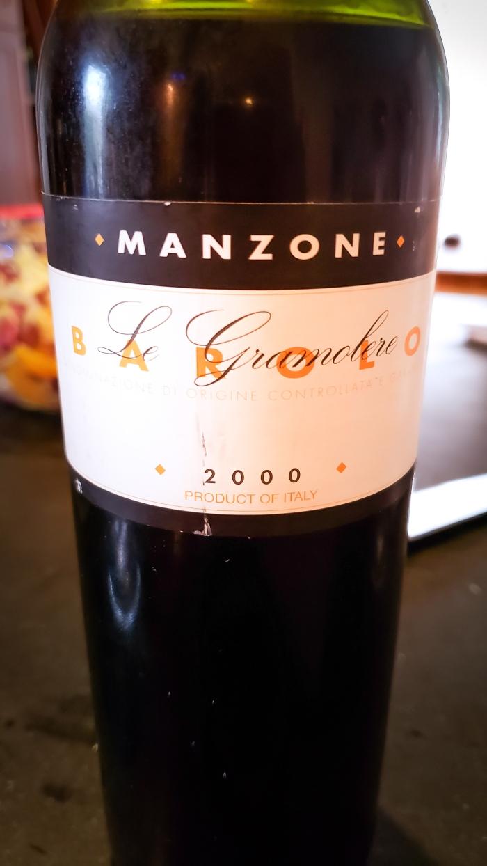 2000 Giovanni Manzone Barolo Le Gramolere