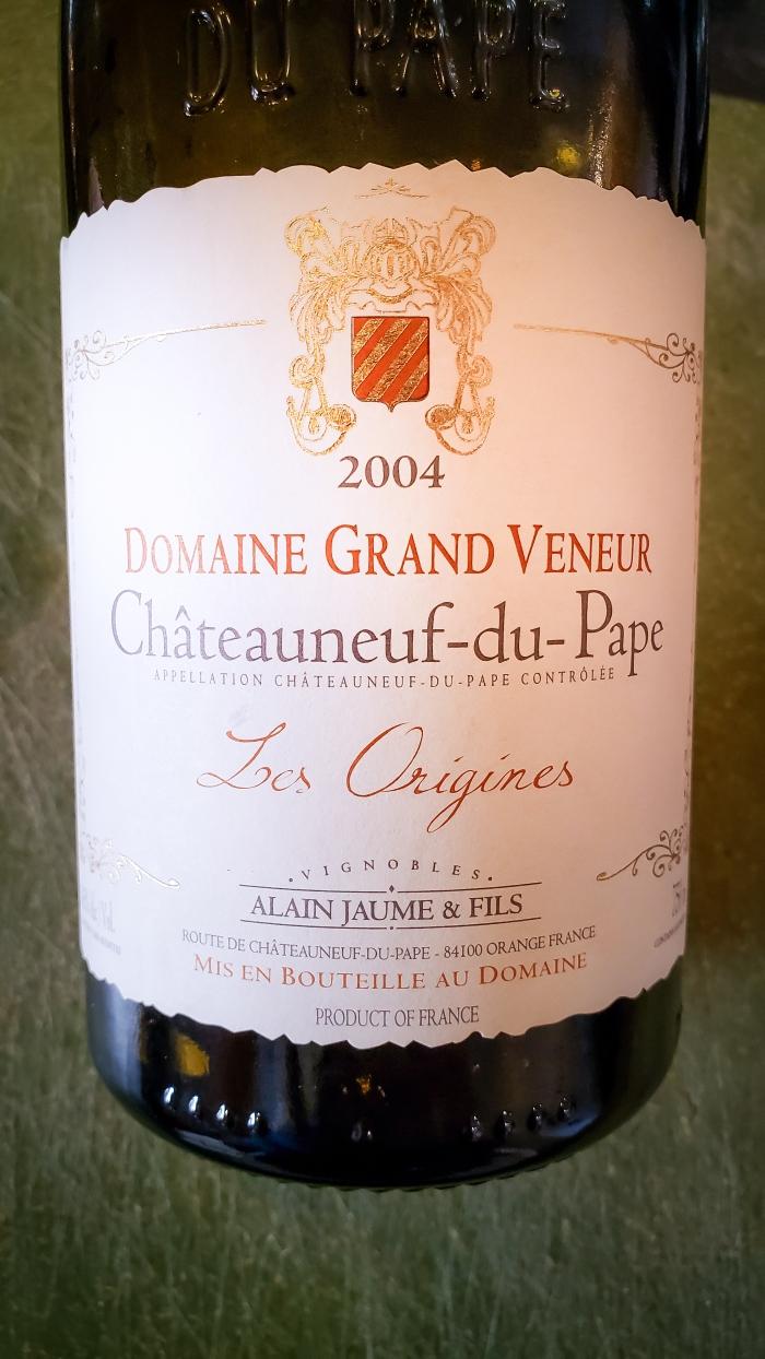 2004 Domaine Grand Veneur Châteauneuf-du-Pape Les Origines