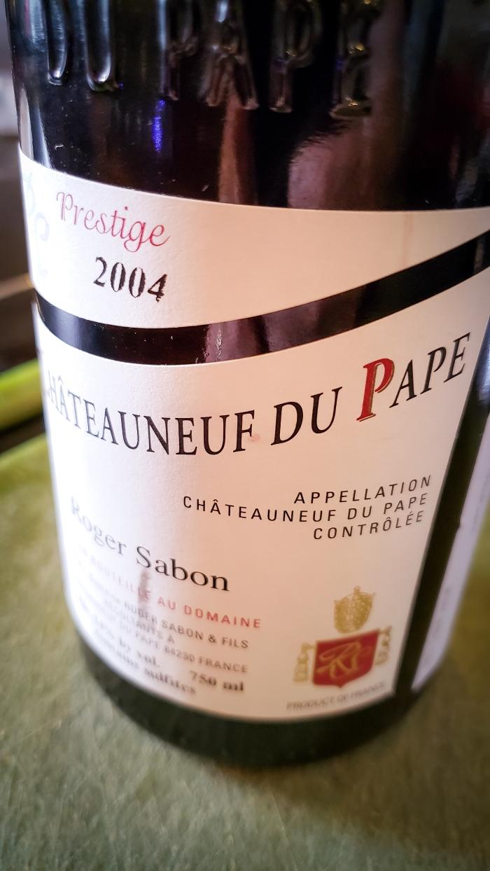 2004 Roger Sabon Châteauneuf-du-Pape Cuvée Prestige