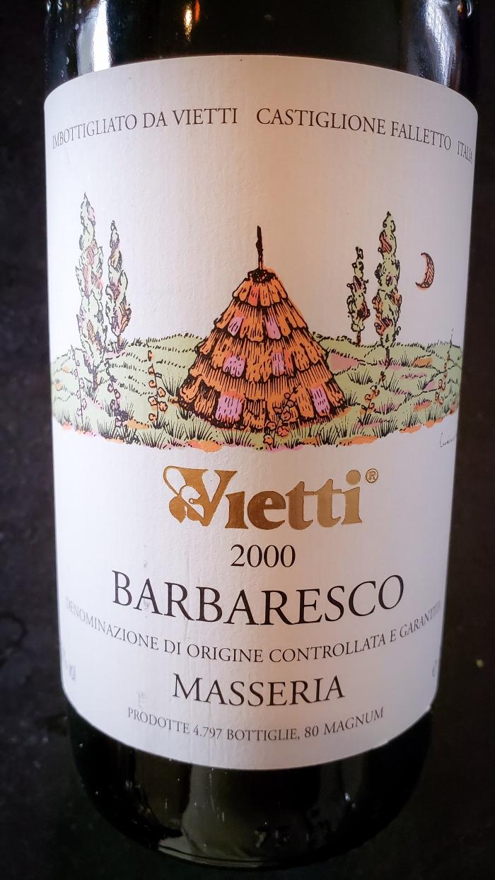 2000 Vietti Barbaresco Masseria