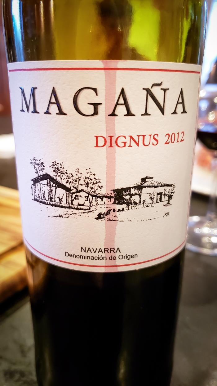 2012 Viña Magaña Navarra Dignus